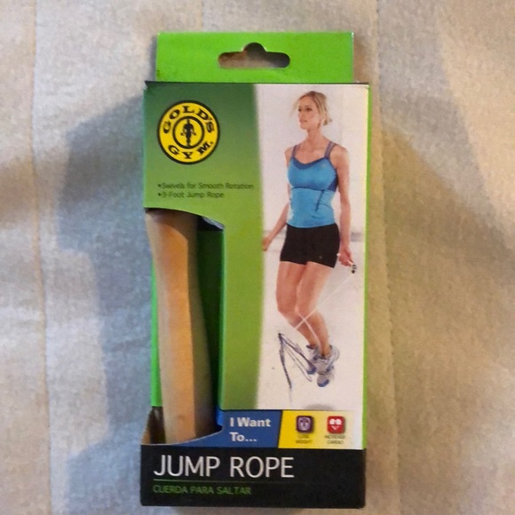 Gold's gym jump rope